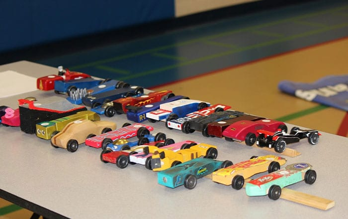 February 2018 Pack Meeting – Pinewood Derby Design Contest - Pack 3322